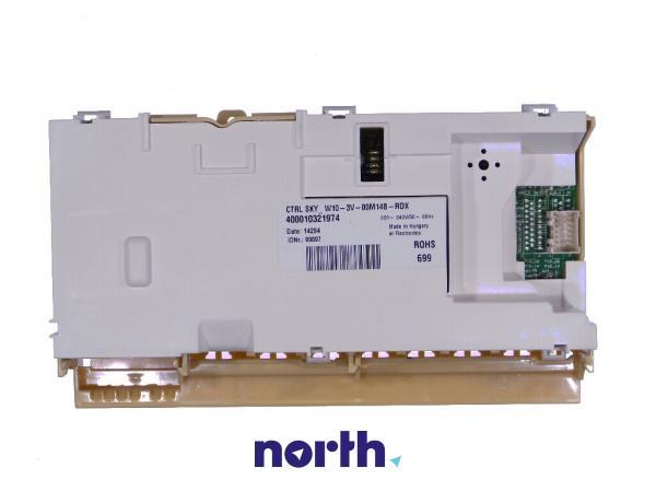 Moduł sterujący nieskonfigurowany do zmywarki Whirlpool 481010452618,0
