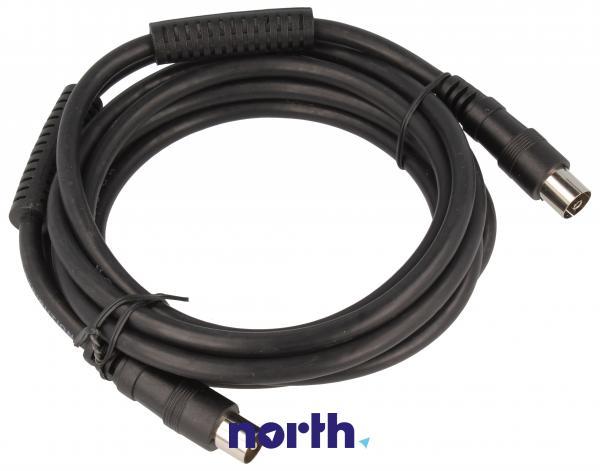Kabel antenowy 2.5m (wtyk/gniazdo),0
