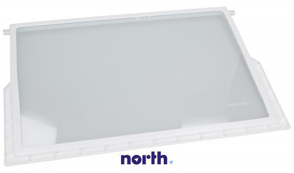 Szyba | Półka szklana kompletna do lodówki Amica 1023711,1