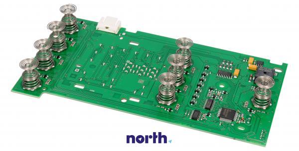 Moduł obsługi panelu sterowania skonfigurowany do pralki Bosch 00654025,1