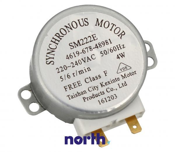 Silnik napędowy SM222E mikrofalówki 481067848981,0