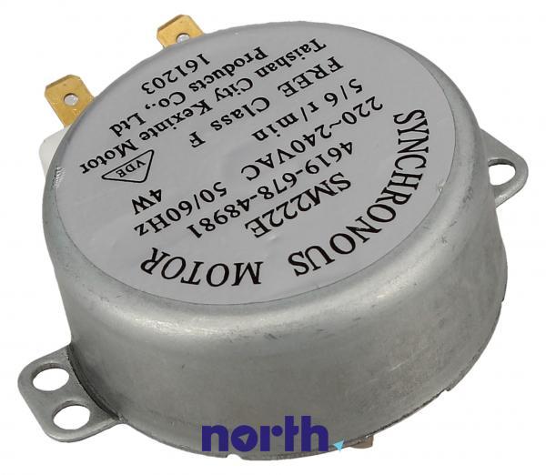 Silnik napędowy SM222E mikrofalówki 481067848981,1