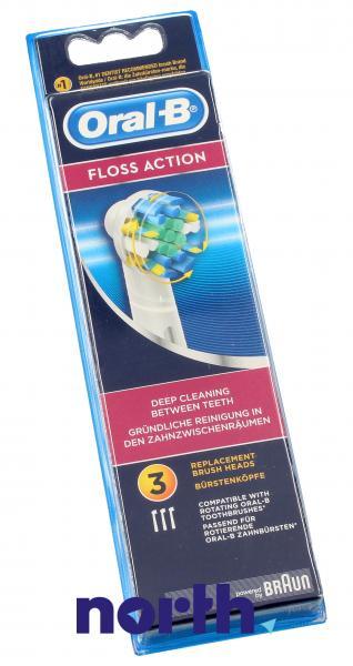 Końcówki EB-25 Floss Action do szczoteczki do zębów (3szt.) Oral-B 64708766,2