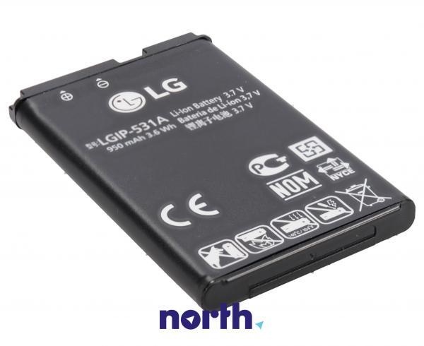 Akumulator | Bateria LGIP-531A 3.7V 950mAh do smartfona LG EAC61700101,0