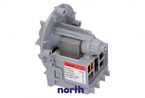 Silnik pompy odpływowej RC0140 do pralki,0