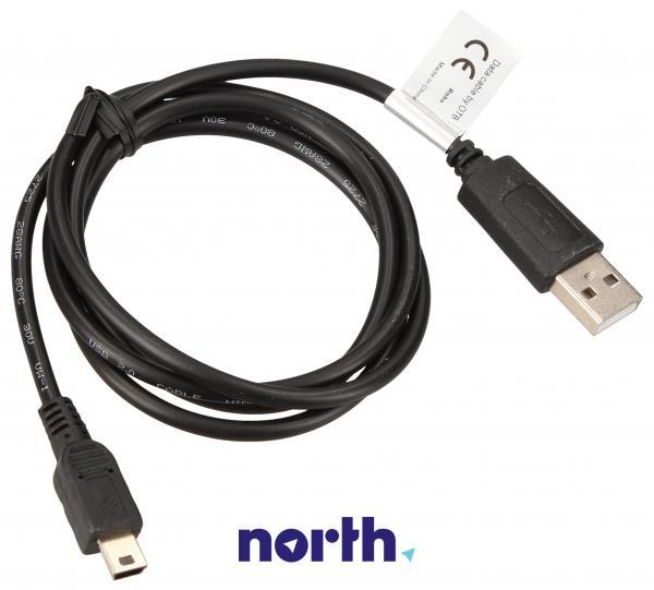 Adapter USB A - USB (wtyk/ B mini wtyk),0