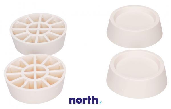 Stopka | Podkładka antywibracyjna SKA002 pod nóżkę do pralki (4szt.) Whirlpool 484000000364,2