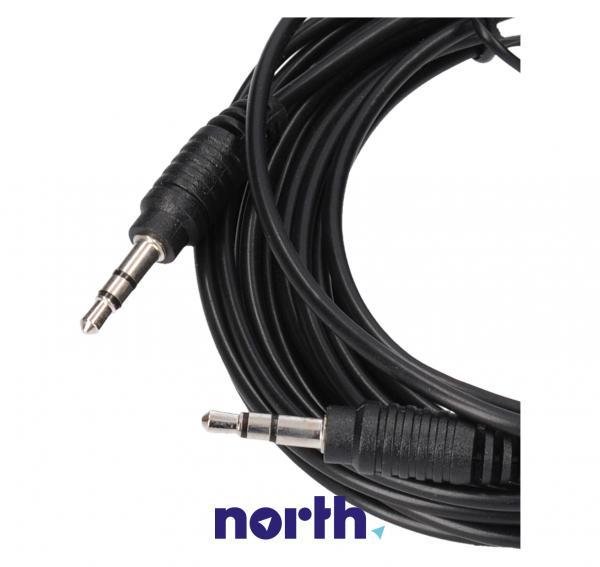 Kabel Jack 3,5mm stereo 5m (wtyk/ wtyk),1