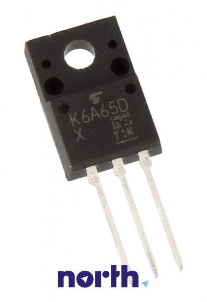 TK6A65D Tranzystor SC-67 (N-Channel) 650V 6A,0