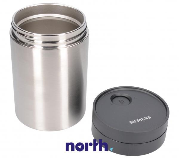 Dzbanek   Pojemnik na mleko TZ80009N (kompletny) do ekspresu do kawy Bosch 00576166,1
