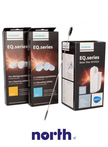 Zestaw do czyszczenia TCZ8004 do ekspresu do kawy Siemens 00576330,2