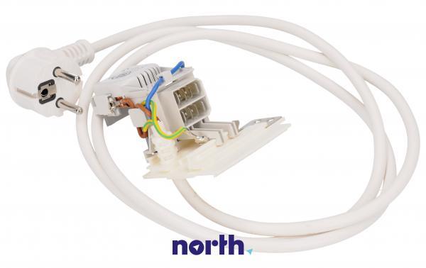 Kabel zasilający z filtrem przeciwzakłóceniowym do pralki,0
