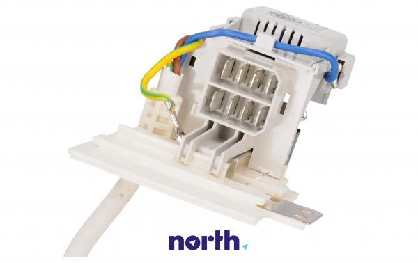 Kabel zasilający z filtrem przeciwzakłóceniowym do pralki,2