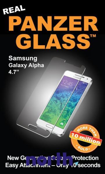Szkło hartowane wyświetlacza do smartfona Samsung Galaxy Alpha PanzerGlass 1037,0