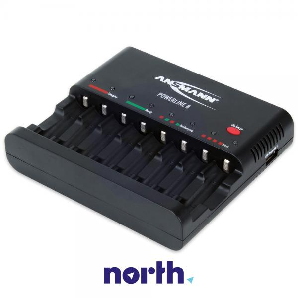 Ładowarka akumulatorów POWERLINE8 R3/R6 Ansmann,0