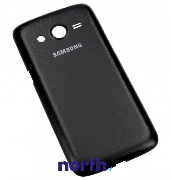 Klapka baterii do smartfona Samsung Galaxy Core LTE GH9830927B (czarna),0
