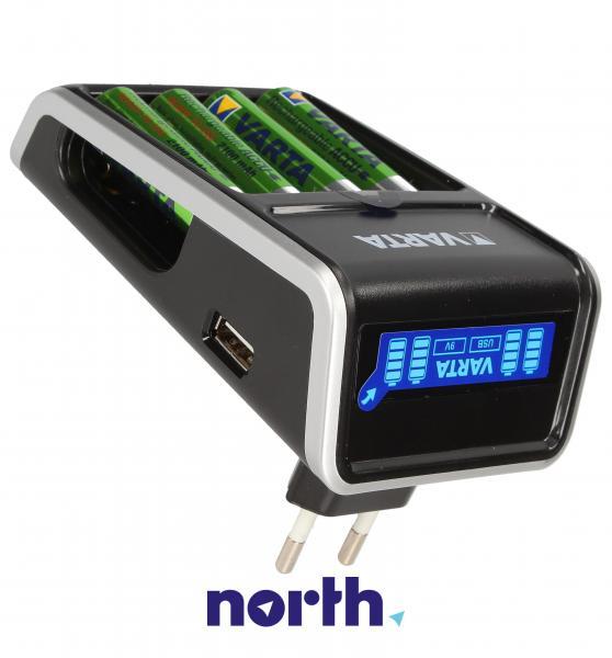Ładowarka akumulatorów 57677101441 R3/R6 + AA 2100 mAh x4,2
