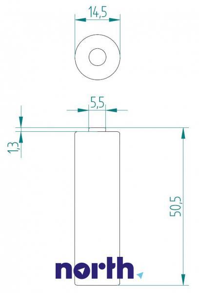 R6 | LR6 | Bateria AA (Power Alkaline) 1.5V Philips (4szt.),1