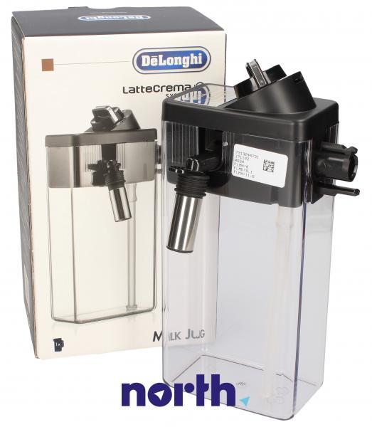 Dzbanek | Pojemnik na mleko DLSC011 (kompletny) do ekspresu do kawy 5513294571,0