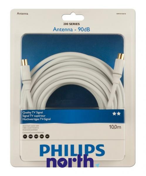 Kabel antenowy 10m Philips (wtyk/gniazdo) HQ,0