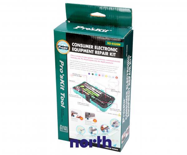 Zestaw narzędzi do smartfonów, tabletów gier video, notebooków SD9326M Proskit,4