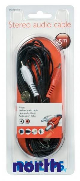 Kabel CINCH 5m (wtyk x2/ wtyk x2) SWA2524W10,1