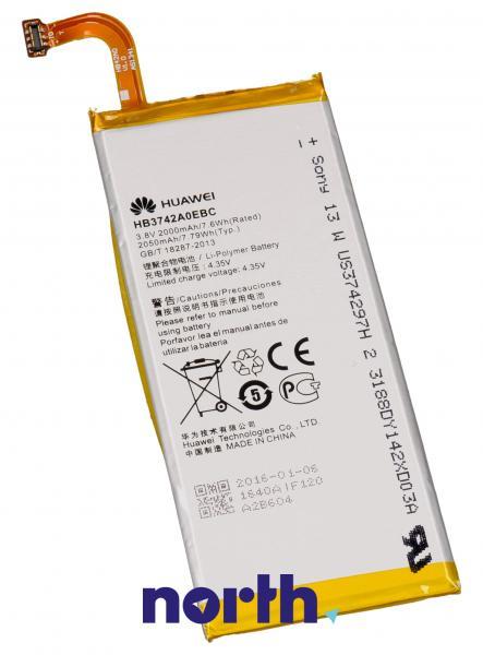 Akumulator | Bateria Ascend P6 3.8V 2000mAh do smartfona HB3742A0EBC,0