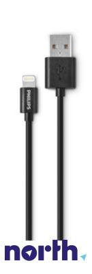 Kabel APPLE 1m USB A - Lightning (wtyk/ wtyk) DLC2404V10,0