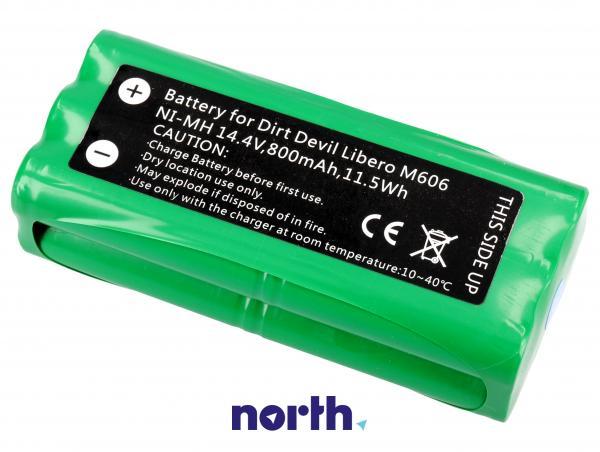 Bateria | Akumulator do robota odkurzającego Dirt Devil,0