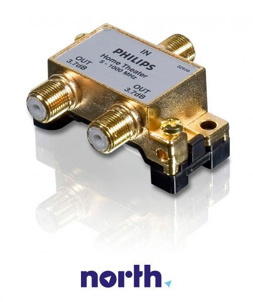 SWV4000S10 Rozgałęźnik satelitarny na złącza F 1/2 PHILIPS,1
