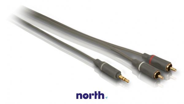 Kabel 1.5m CINCH (wtyk x2) - JACK 3.5mm stereo (wtyk) SWA4527S10,2