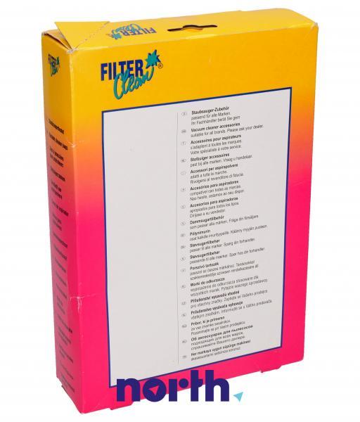 Worek tekstylny do odkurzacza (+jednorazowy) FL0051K,1