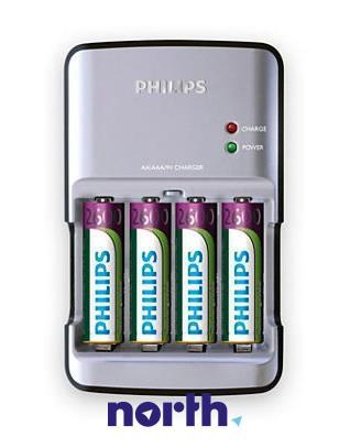 Ładowarka akumulatorów SCB4400NB12 R3/R6/9V + AA 2700 mAh x4,0