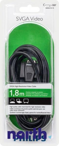 Kabel VGA (wtyk/ gniazdo) SWX211210,1