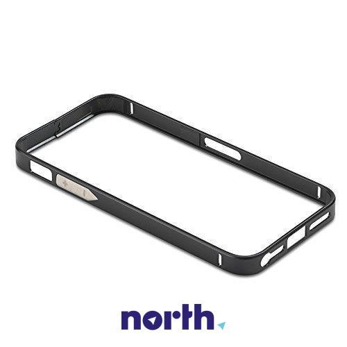 Ramka ochronna do smartfona Apple iPhone 5/5S/5C (czarna) ALU06,0