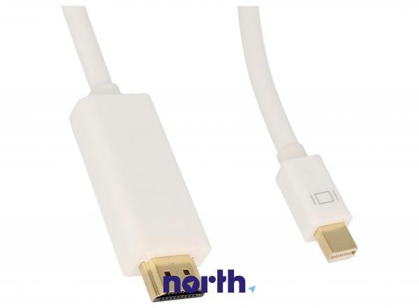 Kabel 2m DISPLAYPORT mini - HDMI (wtyk/ wtyk),1