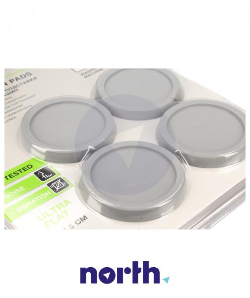 Stopka | Podkładka antywibracyjna pod nóżkę do pralki (4szt.) 9029795243,1