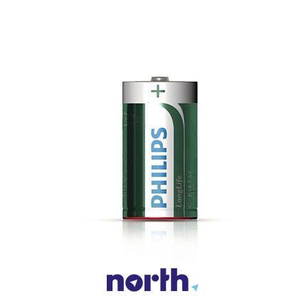 R20 | LR20 | MN1300 Bateria D cynkowo-węglowa 1.5V Philips (2szt.),0