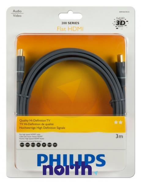Kabel HDMI 3m SWV4437S10 (wtyk/wtyk) high quality,0