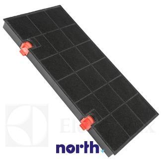Filtr węglowy E3CFE150 aktywny w obudowie do okapu Electrolux 9029793669,1