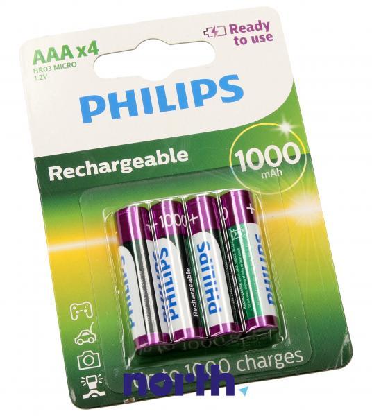 R3 Akumulator AAA 1.2V 1000mAh Philips (4szt.),1