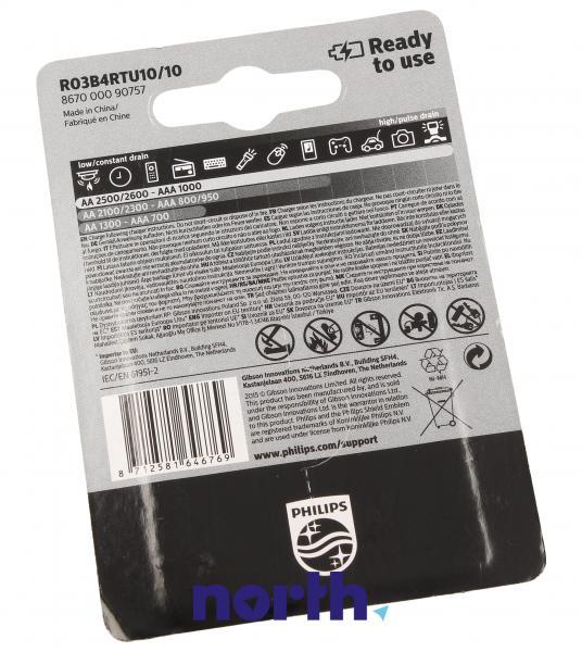 R3 Akumulator AAA 1.2V 1000mAh Philips (4szt.),2