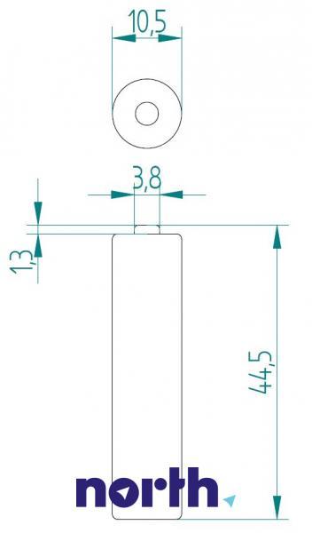 R3 Akumulator AAA 1.2V 1000mAh Philips (4szt.),3