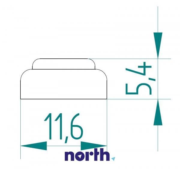 A76 | LR44 | V13GA Bateria alkaliczna manganowa 1.5V 145mAh Philips (2szt.),1