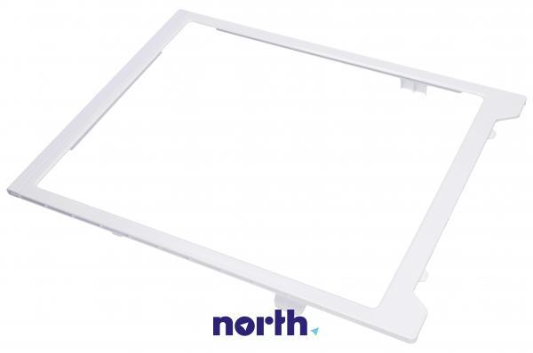 Szyba   Półka szklana zamrażarki kompletna z ramkami do lodówki DA9712994A,0