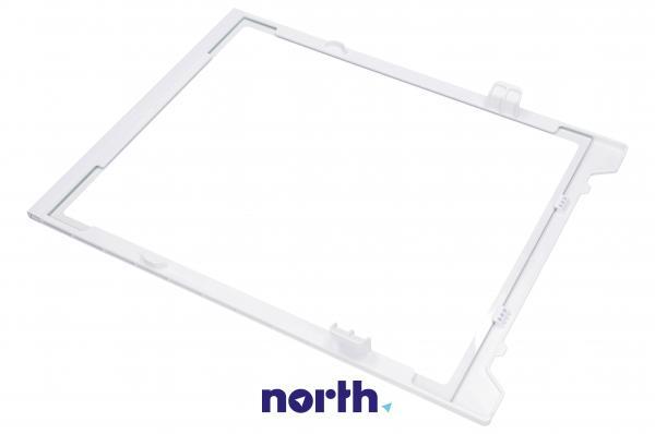 Szyba   Półka szklana zamrażarki kompletna z ramkami do lodówki DA9712994A,1