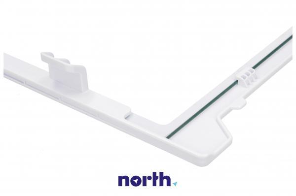 Szyba   Półka szklana zamrażarki kompletna z ramkami do lodówki DA9712994A,2