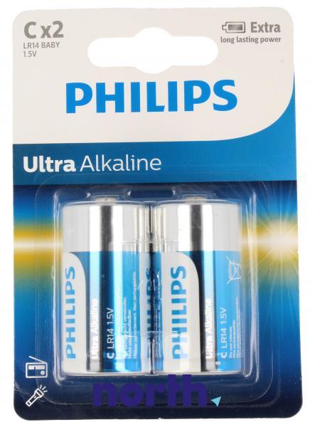 R14 | LR14 | MN1400 Bateria C alkaliczna 1.5V Philips (2szt.),0