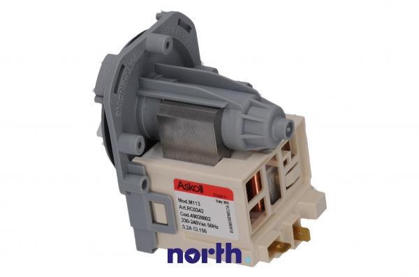 Silnik pompy odpływowej M113 do pralki,0