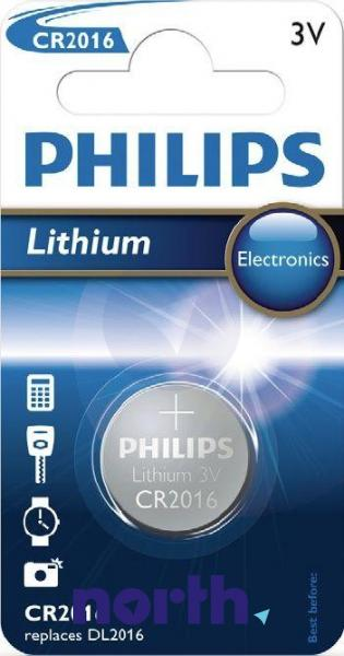 CR2016 | DL2016 | KCR2016 Bateria litowa 3V 75mAh Philips (1szt.),0